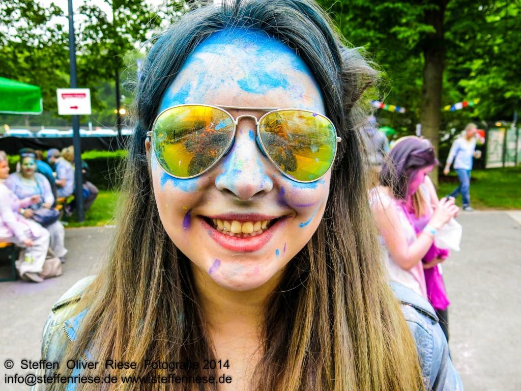Holi Nürnberg Fest der Farben 2014